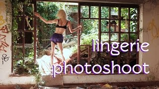 🚫R18+🚫 on location with lexi 📷 the lingerie photography episode