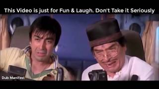 Dhammal Movie Comedy DubSamash [Hindi] | Use Headphones Only |
