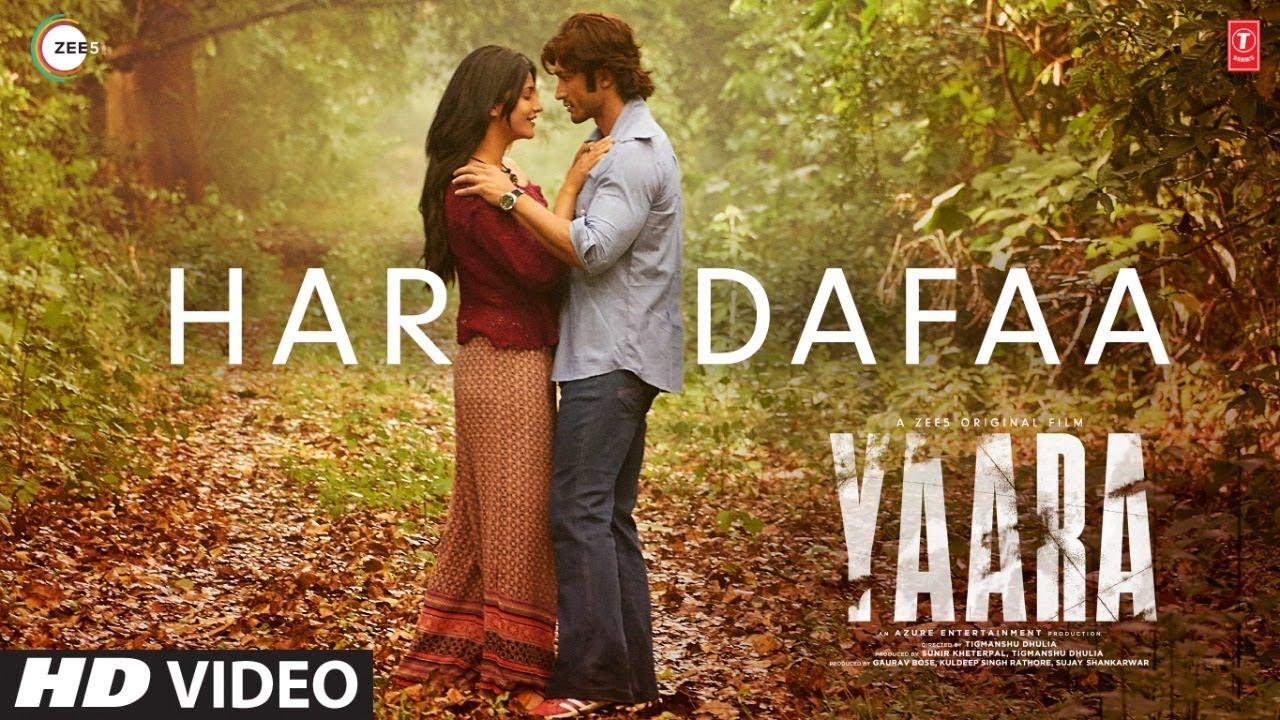 Har Dafaa | Yaara | Vidyut Jammwal, Shruti Haasan | Shaan, Shruti Rane|Gourov-Roshin