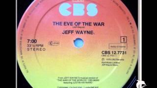 JEFF WAYNE - THE EVE OF THE WAR - 12'' LONG VERSION - 1979