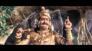 Mayabazar Movie || S V Ranga Rao Beautiful Introduction as Ghatothkachudu || SVR, NTR, ANR, Savitri
