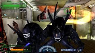 Aliens: Extermination Arcade - Mission 1 Gameplay
