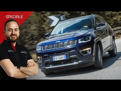 Jeep Compass 1.6 Multijet Limited Versatilità alla prova