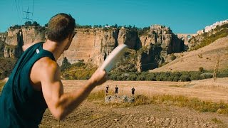 Cliff Jumping Trick Shots | Brodie Smith