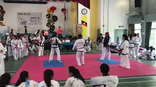 Tang Soo Do National- Rebecca Sim vs Tang Kit Yi