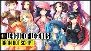 League Of Legends Auto-Leveling Script