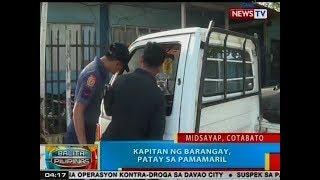 BP: Kapitan ng barangay, patay sa pamamaril sa Cotabato