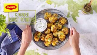 Coriander Roast Potatoes Recipe