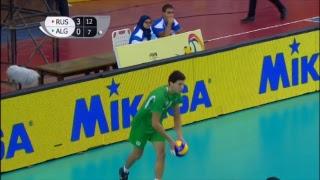RUS vs ALG 2017 FIVB Men