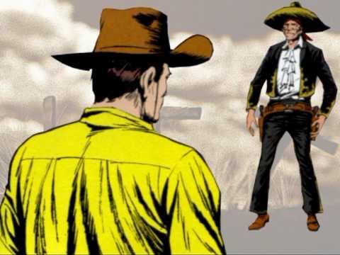 Tex Willer vs El Muerto.