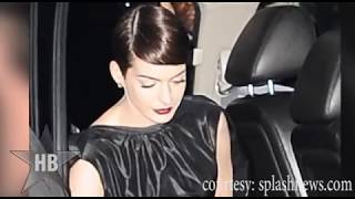 Anne Hathaway PANTY LESS - Wardrobe Malfunction
