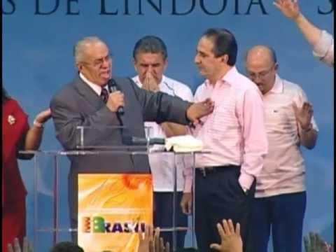 Testemunho e Profecia para o Pr Silas Malafaia Pr Geziel Gomes