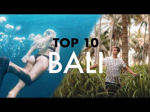 TOP 10 BALI TRAVELLERS PARADISE
