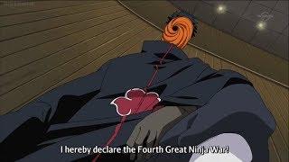 Tobi déclare la 4ème grande guerre ninja [Naruto Shippuden VF]