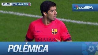 Polémica: Gol mal anulado a Luis Suárez