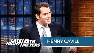 Henry Cavill Talks Batman v Superman