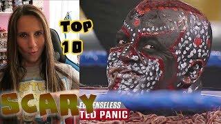 WWE Top 10 - Scared Senseless | Reactions