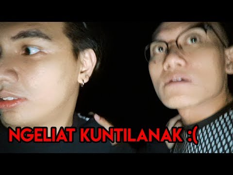 LIAT KUNTILANAK DIHUTAN ANGKER ! | 12 AM CHALLENGE