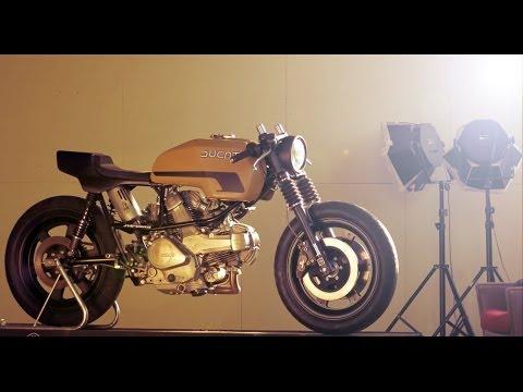 Cafe Racer Ducati Pantah by JVB Moto s