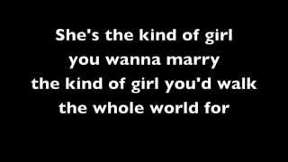 Wanna love you girl - Robin Thicke Pharrel (lyrics video)