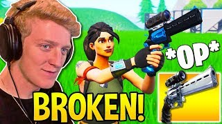 Tfue Might MAKE Fortnite NERF The SCOPED REVOLVER after This! *HUMAN AIMBOT*