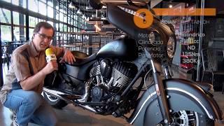 Motosx1000: Test Indian Chieftain Dark Horse