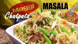 Maggi Masala Noodles Recipe