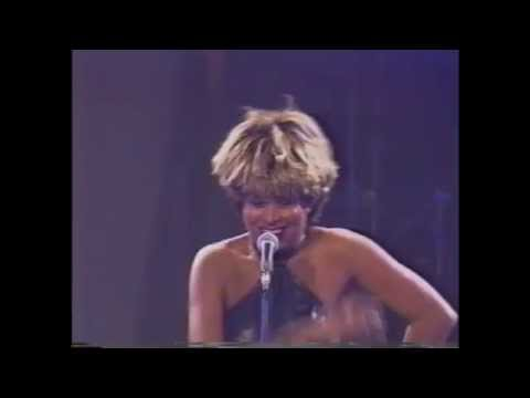 Donovan Marcelle performing with his idol Tina Turner