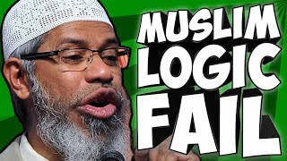 MUSLIM LOGIC FAIL #2 - Zakir Naik vs. Atheist