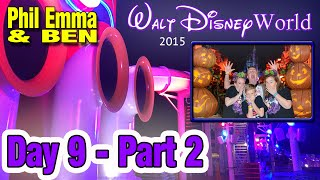 Walt Disney World Vacation 2015 - Day 9 - (2 of 2) - Mickey's Not So Scary Halloween Party