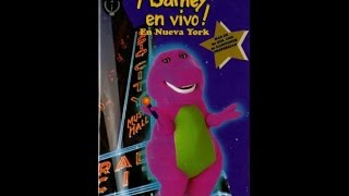 Barney en Vivo en Nueva York  