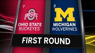 Highlights: #7 Ohio State Gets the Win Over #2 Michigan | 2019 B1G Baseball Tournament