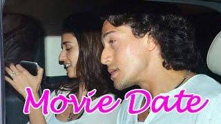 Tiger Shroff and Disha Patani go on a movie date