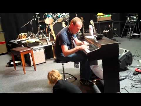 UBTV..Stevie Cradock at Music Up studios Nathan Russell sess