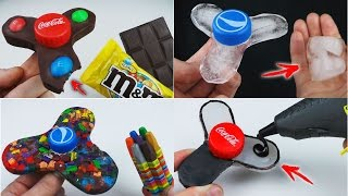 6 Different FIDGET SPINNER You Can Do at Home Compilation
