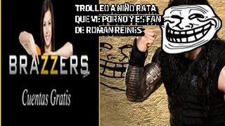 Niño Rata dice q ve Porno en Brazzers y fan de Roman