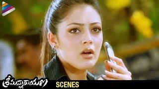 Srimannarayana Movie Scenes | Balakrishna trying to seize Parvathi Melton | Balakrishna | Chakri