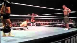 CM Punk v Alberto Del Rio Closing Moments @ WWE Raw in Sheffield, England 2011