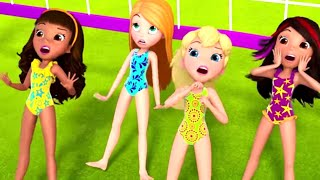 Polly Pocket full episodes | Beach day to go | New Episodes HD | New S11 | Kids Movies | Girls Movie
