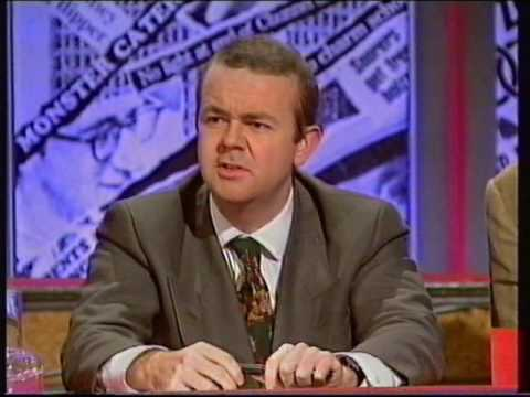 Have I got news for you 1992 review with Stephen Fry and Frank Skinner