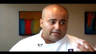 Chef Hamid Salimian at Diva at the Met on the Express July 20, 2012