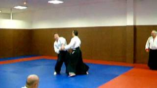 entrainement aikido demo michel piedoue