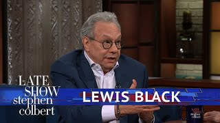 Lewis Black Has The Ultimate 'Trickle Down' Analogy