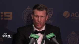 Warner surprised to take top honour at AB Medal