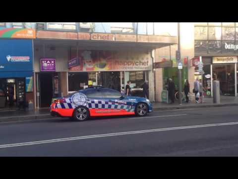 NSW Police - Central Metro 240 Pulling Someone Over