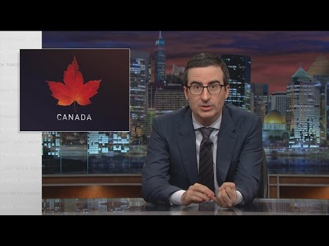 Canadian Election Last Week Tonight with John Oliver HBO