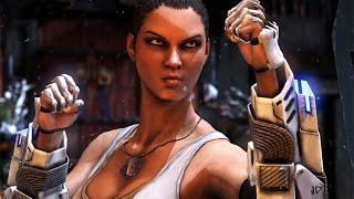 Mortal Kombat X - Jacqui Briggs All Interaction Dialogues