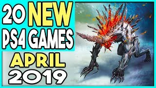 20 BIG PS4 GAMES COMING APRIL 2019 - NEW PS4 GAMES RELEASES