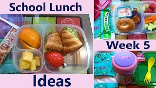 School Lunch Ideas! |2017| Bento Box Style| Week 5