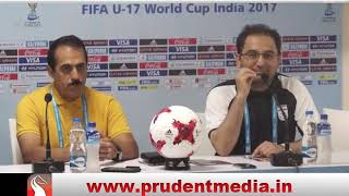 REACTIONS OF COSTA RICA & IRAN COACH AFTER IRAN WON 3-0 IN FIFA U-17 WORLD CUP IN GOA